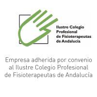 Empresa adherida por convenio al Ilustre Colegio Profesional de Fisioterapeutas de Andalucía