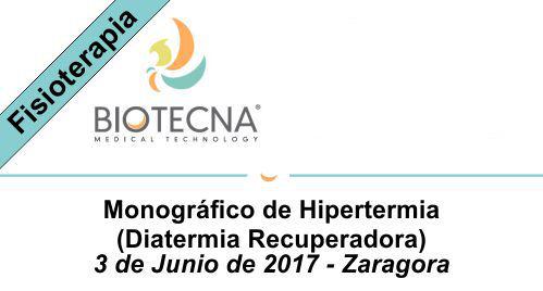 Cursos Biotecna. 2017-06-03 Curso Diatermia Zaragoza