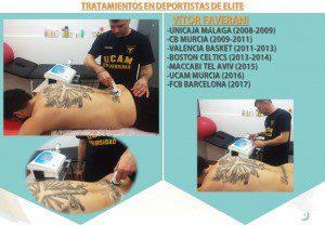 Biotecna. Tratamiento en Deportistas Alto Rendimiento. VÍTOR FAVERANI