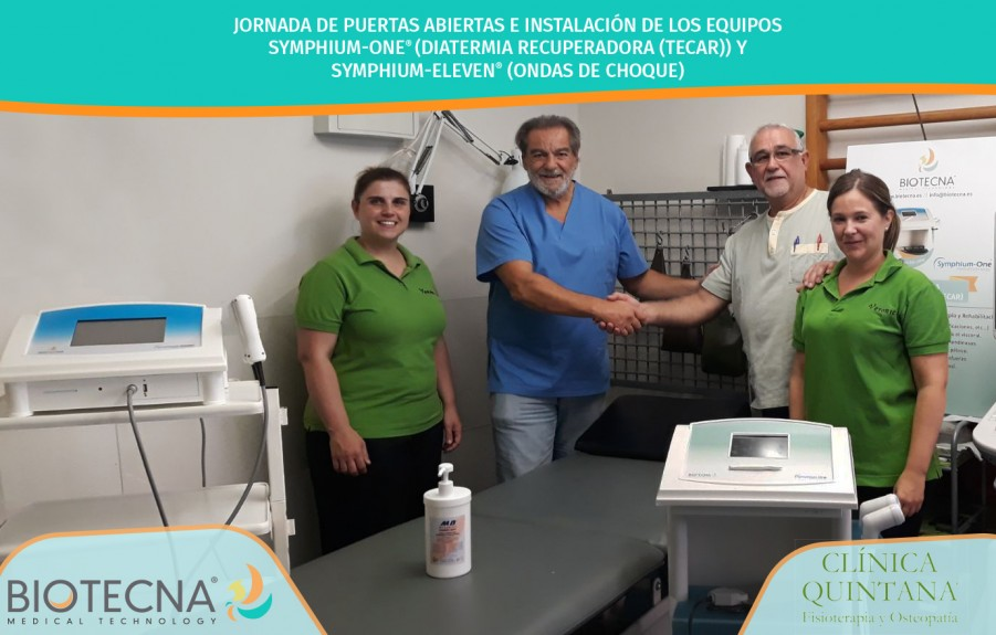 BIOTECNA. JORANADA DE PUERTAS ABIERTAS CLINCA QUINTANA
