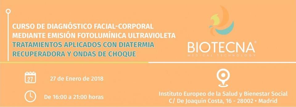 Biotecna. CABECERA CURSO MADRID 2018-01-27