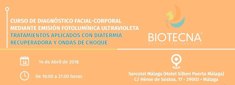 CABECERA BANNER CURSO BIOTECNA ESTETICA MÁLAGA 2018-04-14