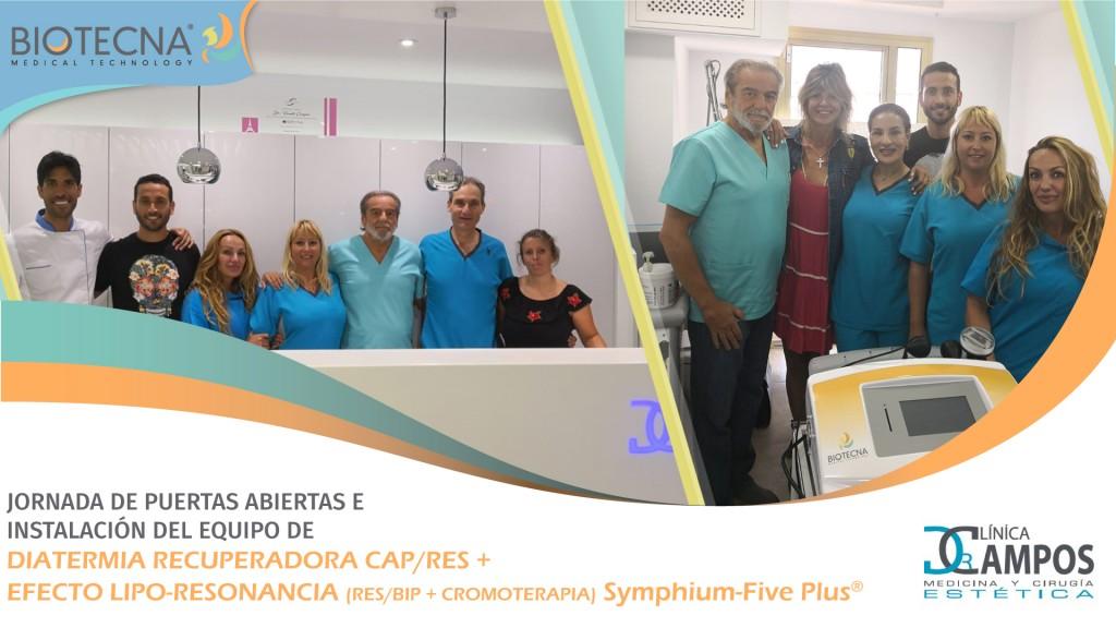 Biotecna y Clínica Dr. Campos. JORNADA DE PUERTAS ABIERTAS