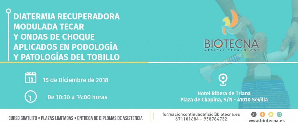 2018-12-15 - Banner Curso de podología Sevilla