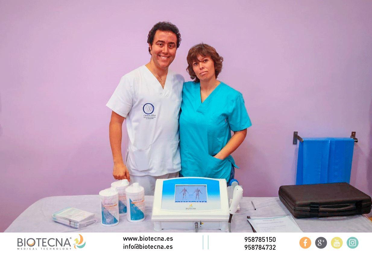 Biotecna y Centro de Fisioterapia y Osteopatía Jorge López. JORNADA DE PUERTAS ABIERTAS