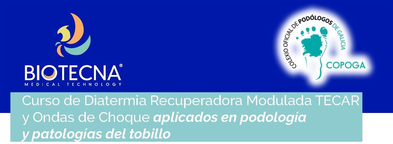 2019-06-08 - Curso Podología A Coruña - Cabecera
