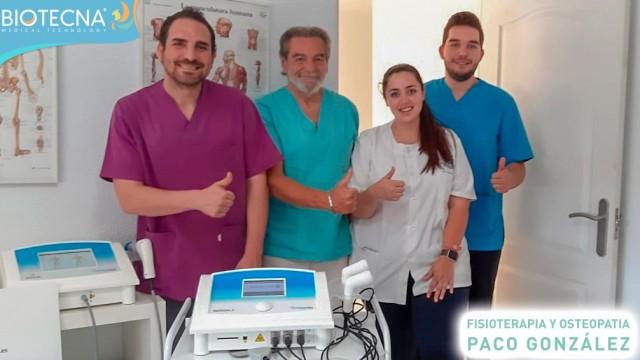 Biotecna y Fisioterapia Paco González. Jornada de Puertas Abiertas