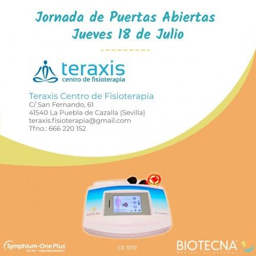 Jornada de puertas abiertas Centro Fisioterapia Teraxis