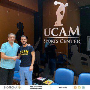 Biotecna y UCAM Sports Center