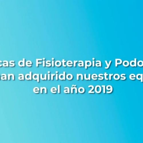 Clínicas de Fisioterapia y Podología 2019