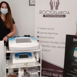 Biotecna Formación y entrega de Equipos Rocio García Fisioterapia