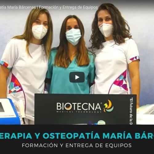 Formación y Entrega de Equipos Fisioterapia y Osteopatía María Bárcenas