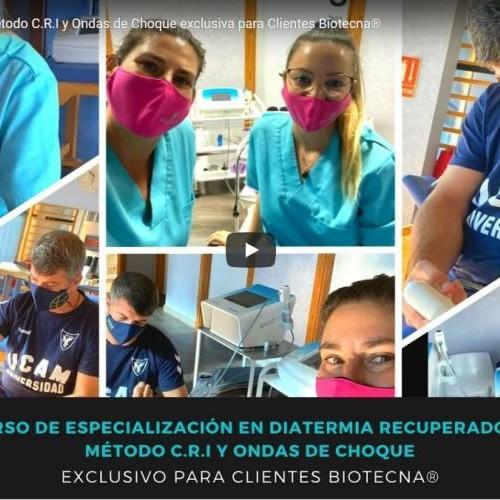 Formación Online Método C.R.I y Ondas de Choque exclusiva para Clientes Biotecna