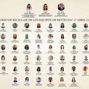 Curso de Reciclaje de los equipos de Biotecna